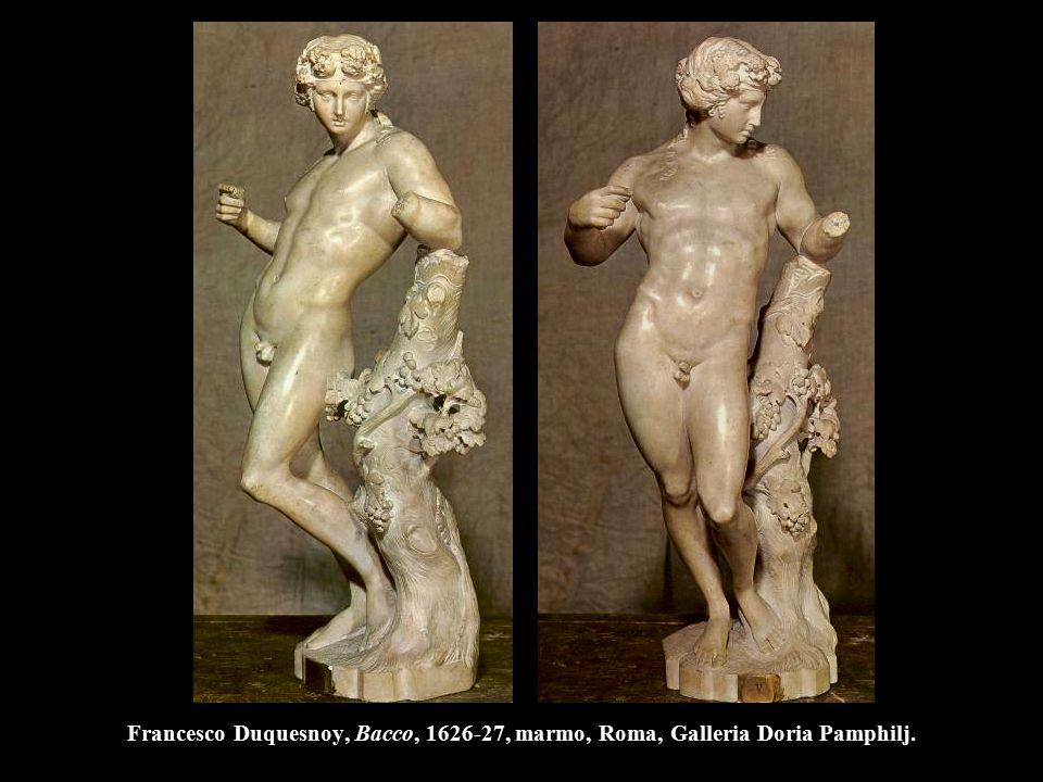 Francesco Duquesnoy, Bacco, 1626-27, marmo, Roma, Galleria Doria Pamphilj.
