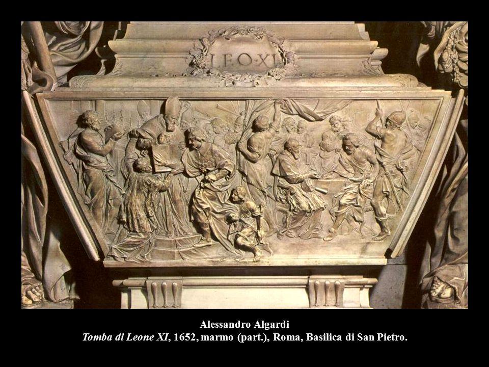 Pierre Le Gros, San Stanislao Kotska, (part.), Roma, Sant'Andrea al Quirinale.