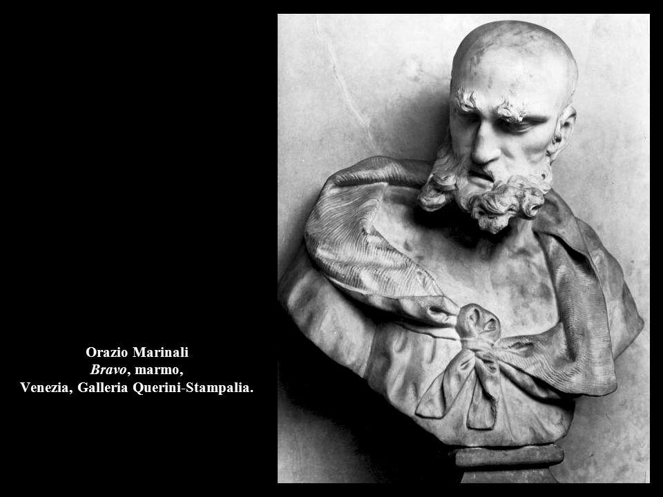 Orazio Marinali Bravo, marmo, Venezia, Galleria Querini-Stampalia.