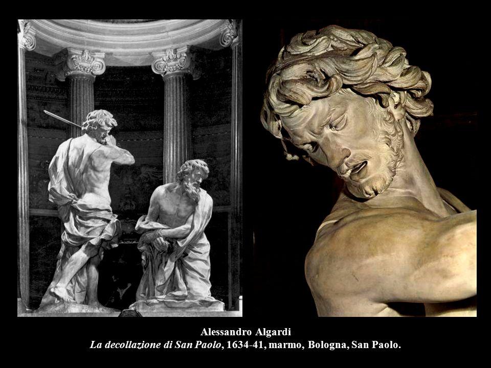 Alessandro Algardi La decollazione di San Paolo, 1634-41, (part.), Bologna, San Paolo.