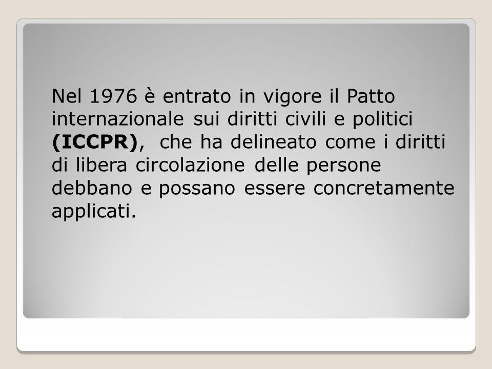Italia La Convenzione di Schengen viene firmata dall'Italia nel 1997