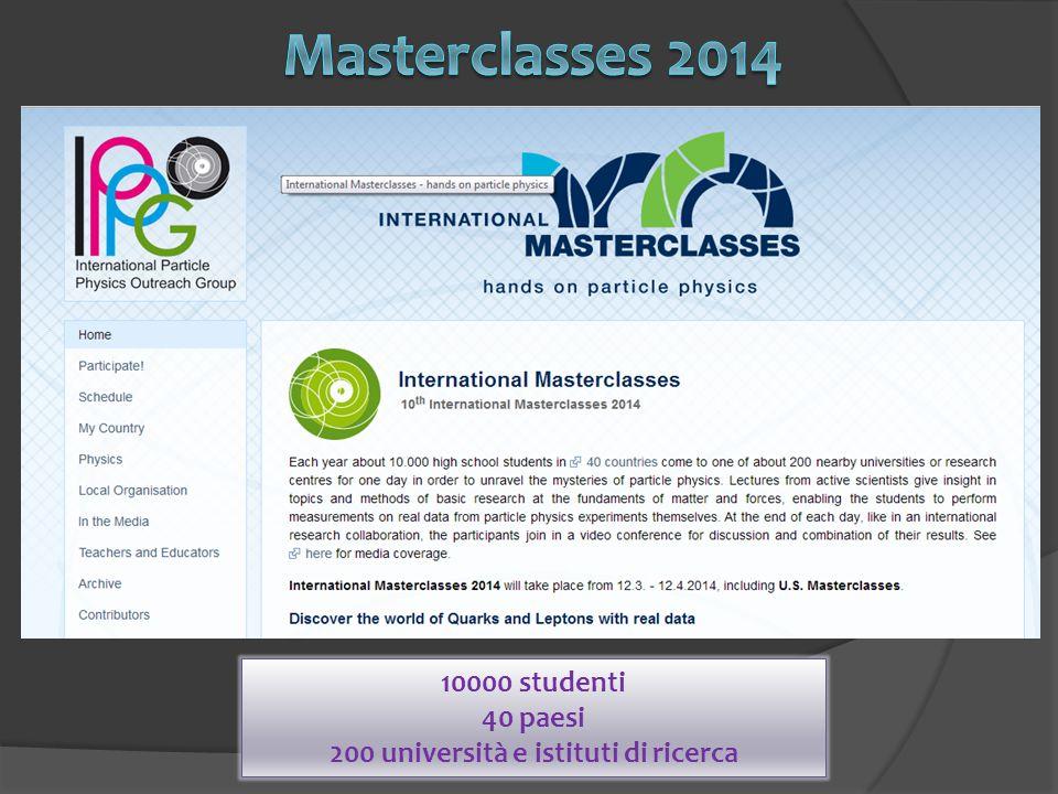 10000 studenti 40 paesi 200 università e istituti di ricerca