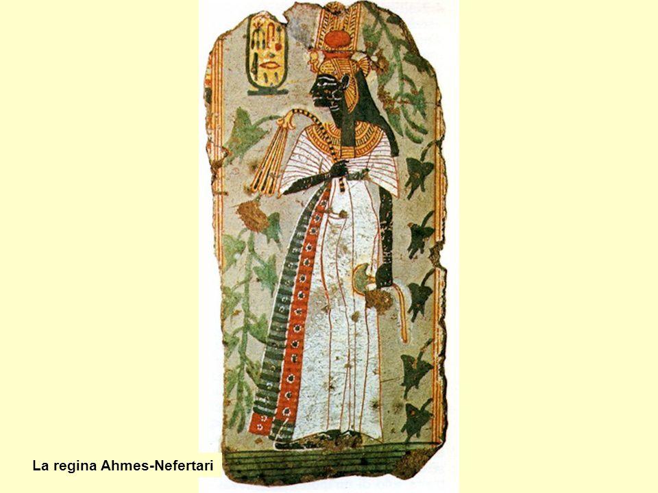 La regina Ahmes-Nefertari