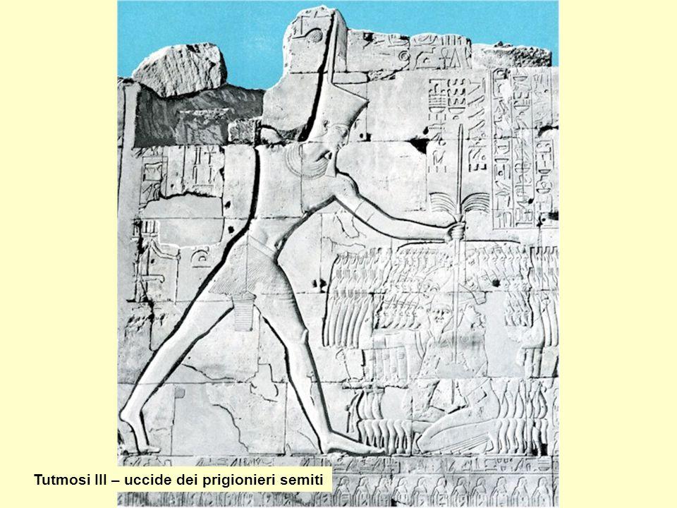 Tutmosi III – uccide dei prigionieri semiti