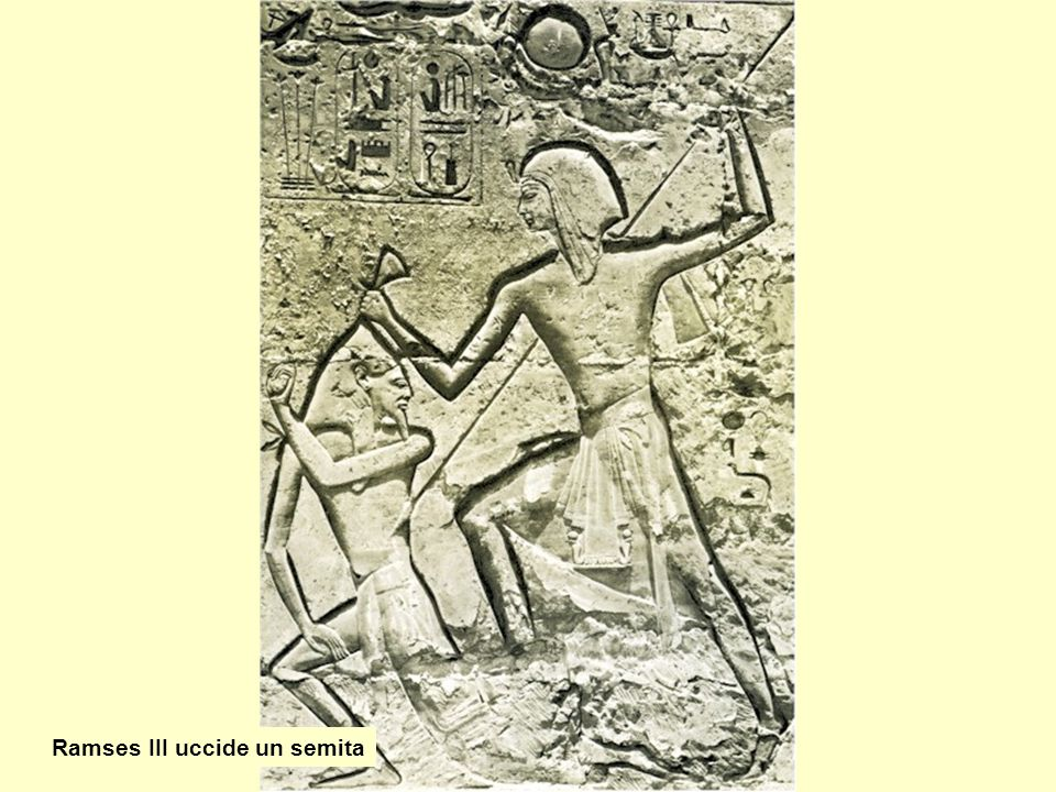 Ramses III uccide un semita