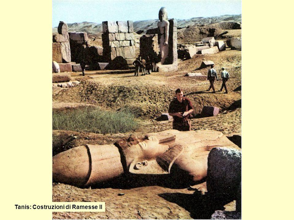 Tanis: Costruzioni di Ramesse II