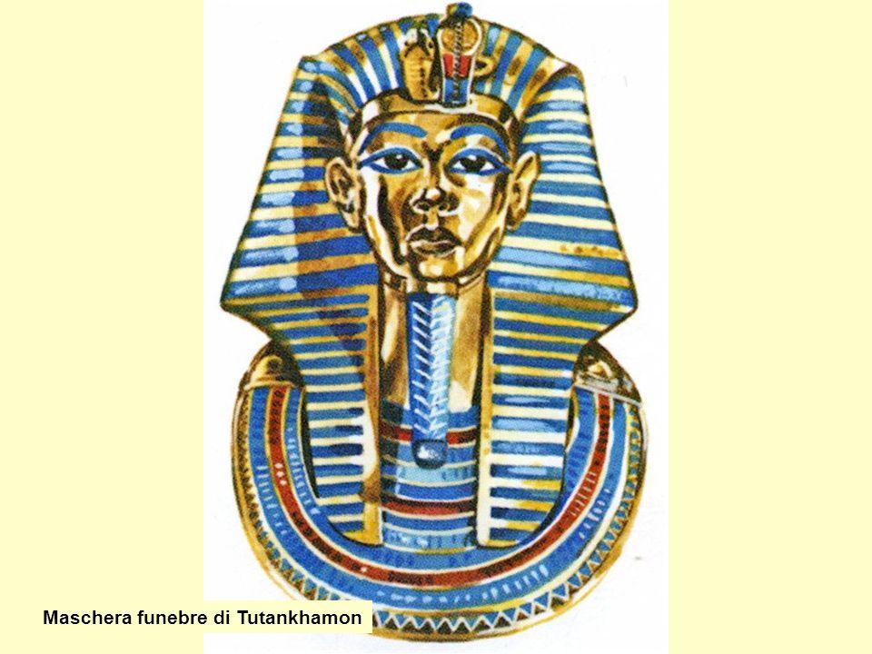 Maschera funebre di Tutankhamon