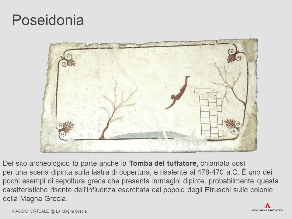 Del sito archeologico fa parte anche la Tomba del tuffatore, chiamata così per una scena dipinta sulla lastra di copertura, e risalente al 478-470 a.C