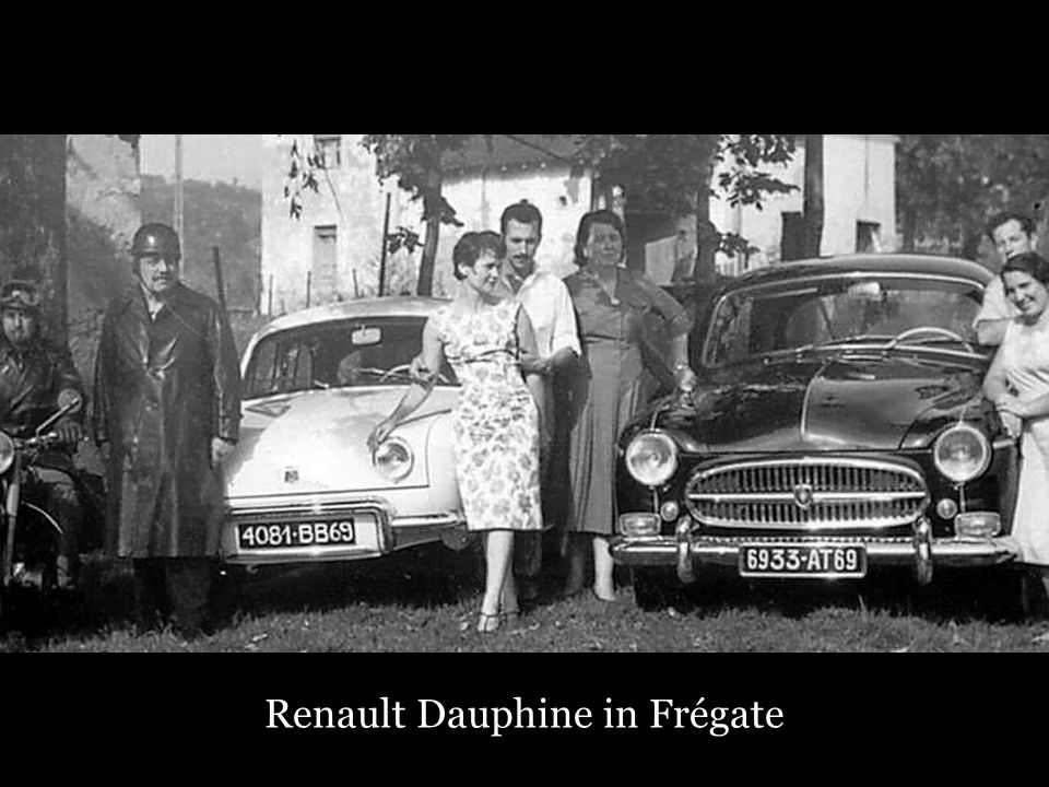 Renault Dauphine in Frégate
