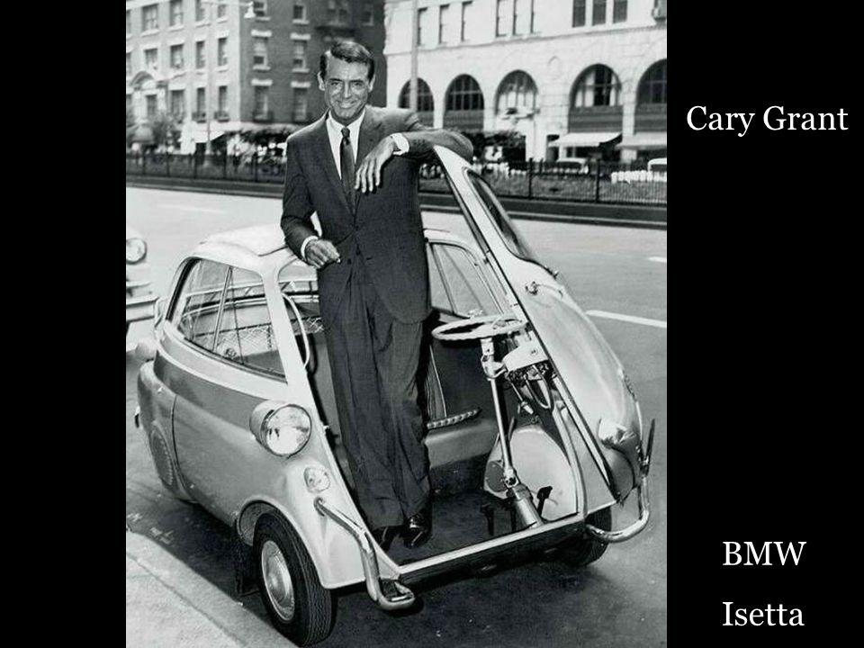 Cary Grant BMW Isetta