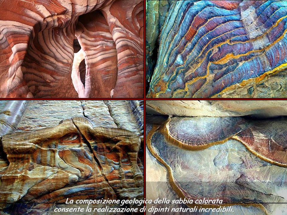 I colori delle pietre sono naturali