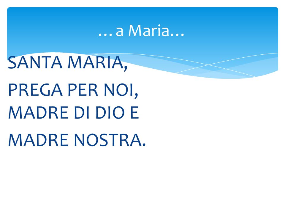 …a Maria…