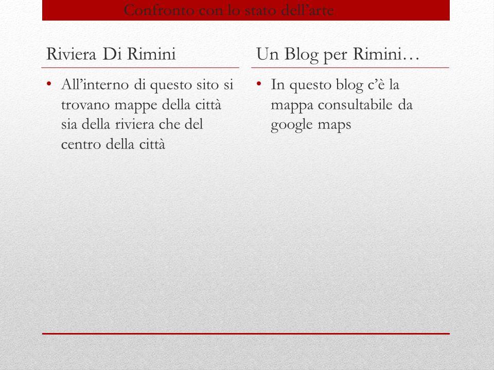 Riviera di Rimini Sito che dà la possibilità di conoscere Rimini con cenni storici e turistici.