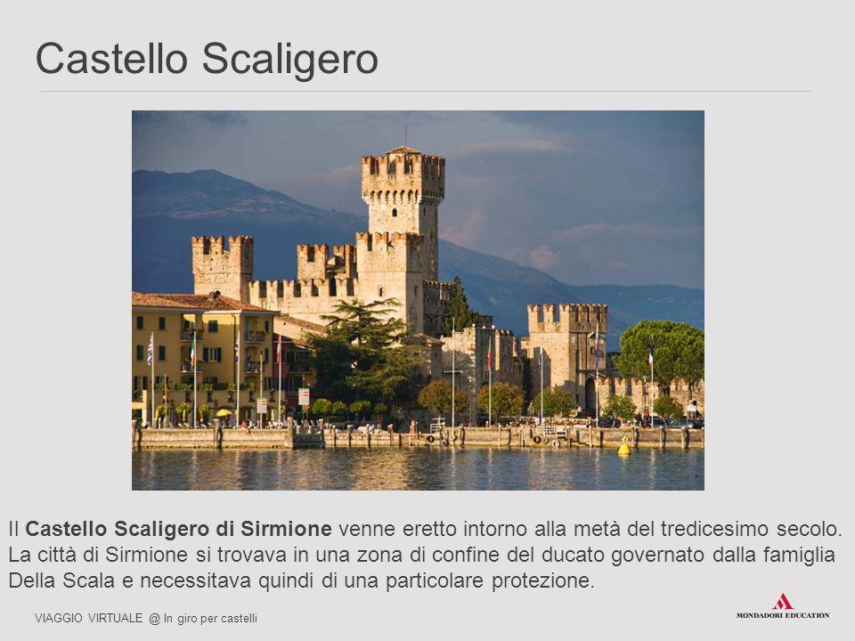 Il Castello Scaligero di Sirmione venne eretto intorno alla metà del tredicesimo secolo. La città di Sirmione si trovava in una zona di confine del du