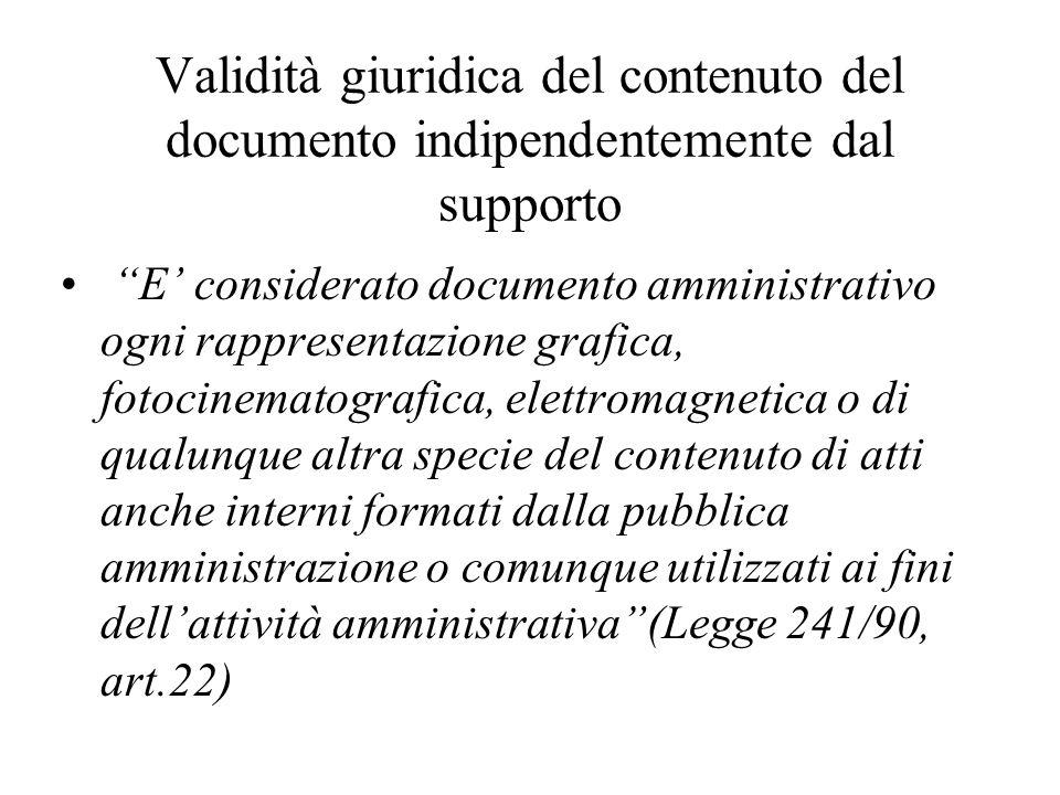 Una percezione ampia del concetto di documento Il concetto di documento archivistico è più ampio di quello di documento in senso giuridico o diplomatistico.