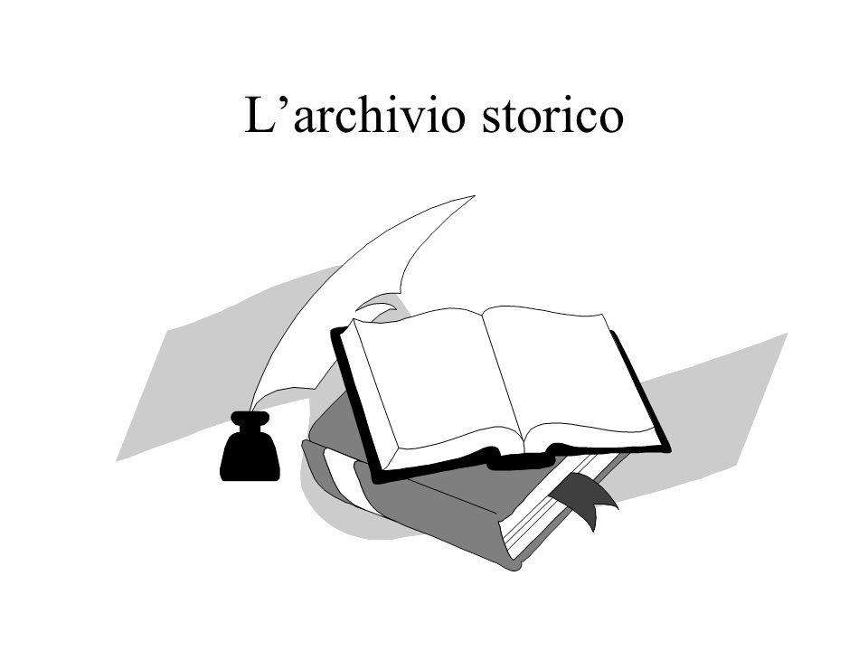 Strumenti per lo scarto Il piano di conservazione o massimario di scarto –Archivi comunaliArchivi comunali –Aziende sanitarieAziende sanitarie Elenco di scarto