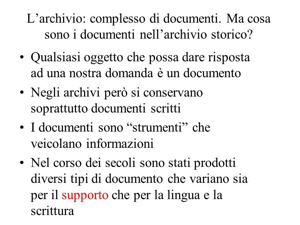 L'archivista: un anello tra il passato e il presente