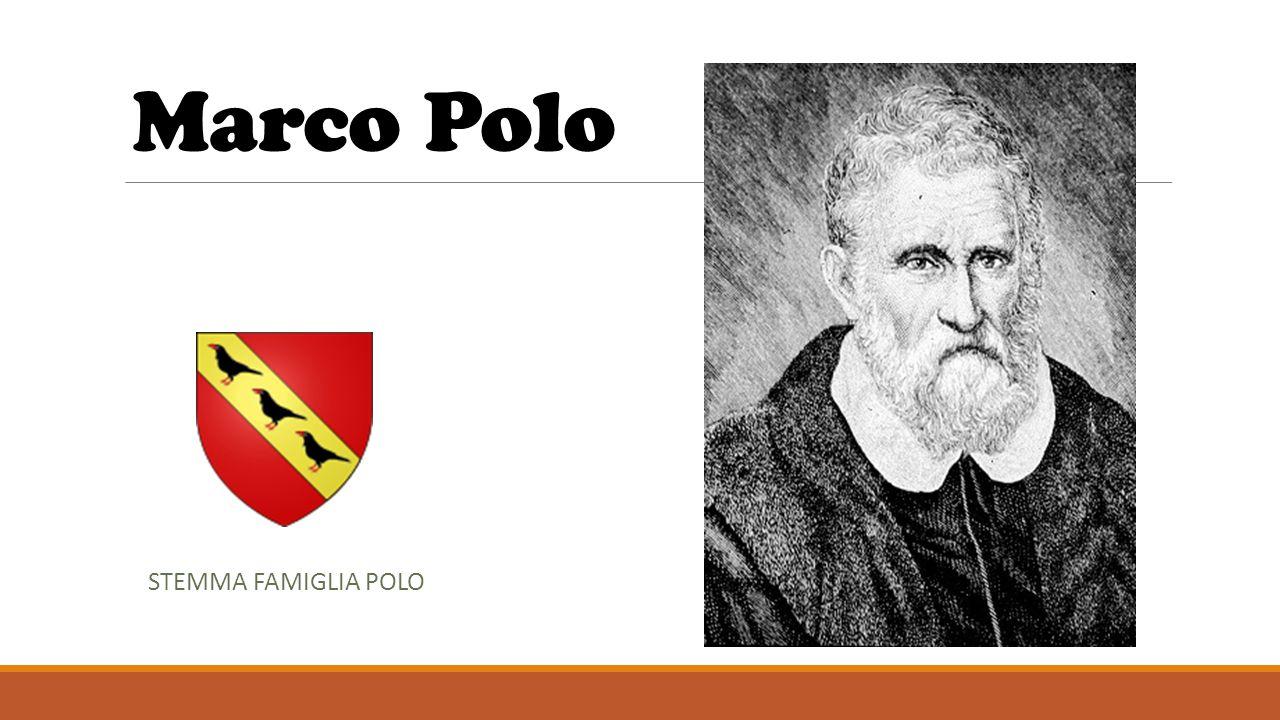 Marco Polo STEMMA FAMIGLIA POLO