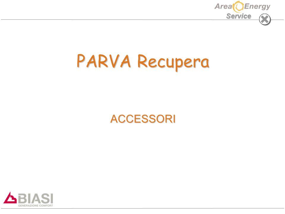 Service PARVA Recupera ACCESSORI