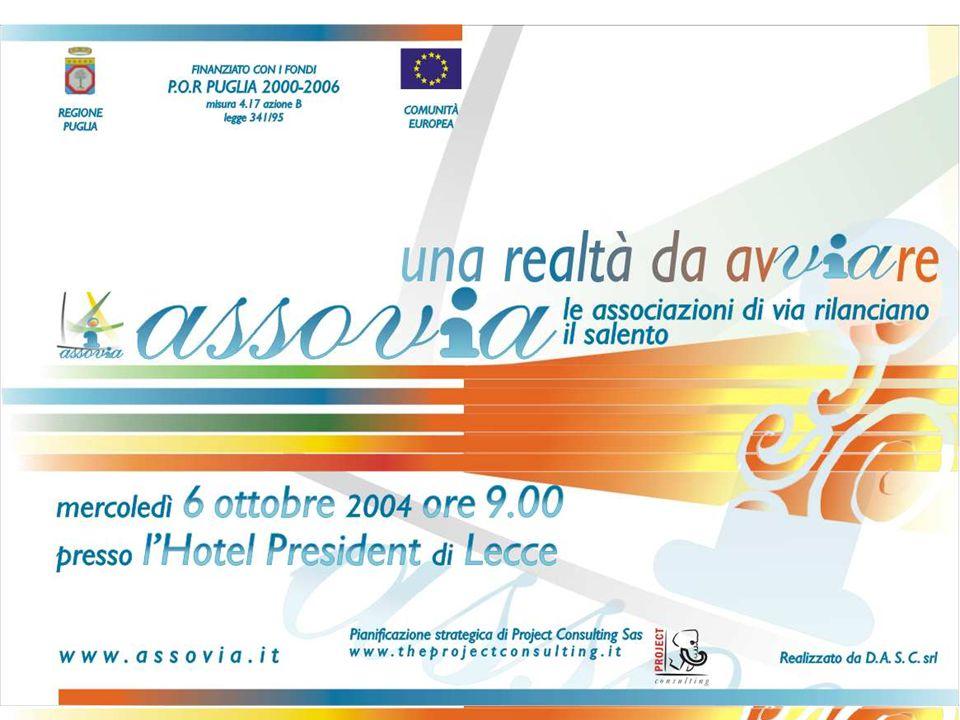 Lecce 06 ottobre 2004 – CONVEGNO: ASSOVIA una realtà da avVIAre