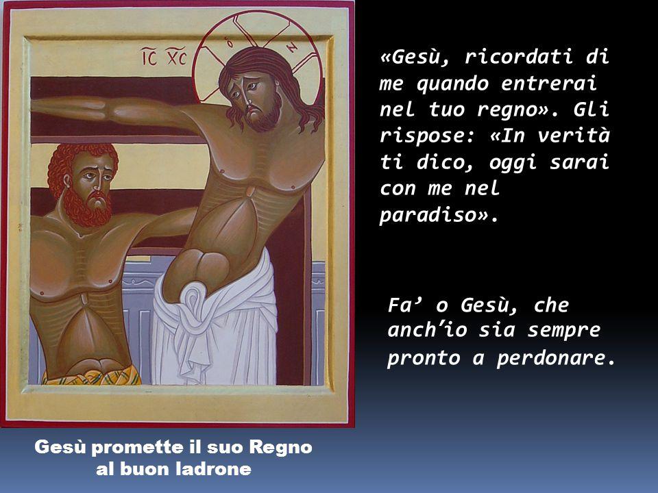Gesù è crocifisso (innalzato sulla Croce) Erano le nove del mattino quando lo crocifissero.