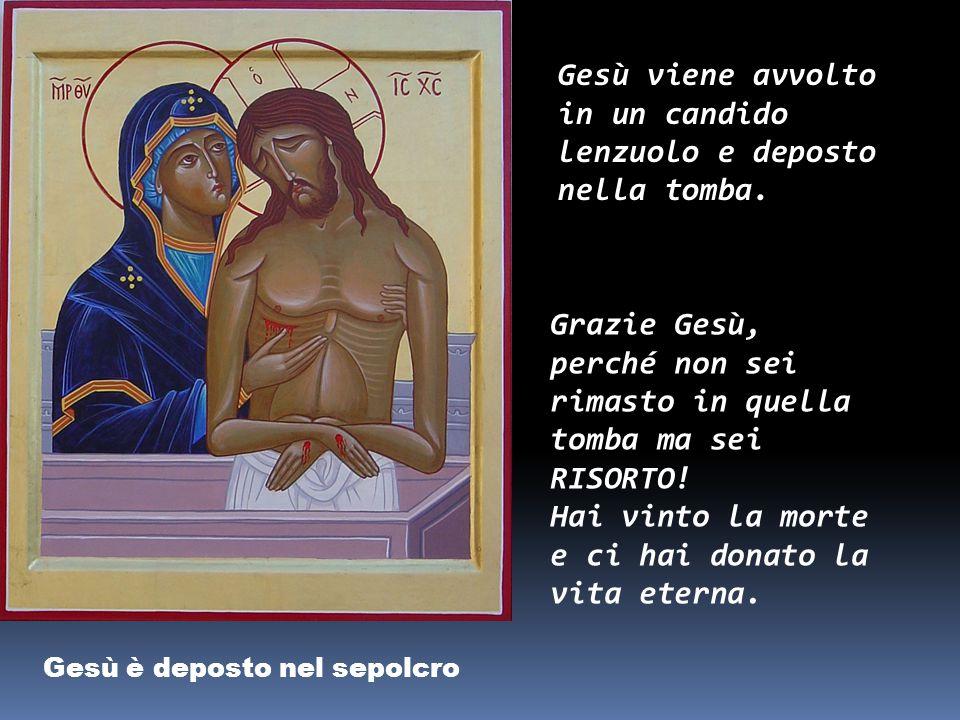 Gesù muore sulla Croce Gesù disse: «Tutto è compiuto!». E, chinato il capo, spirò. Ti adoro, Gesù!