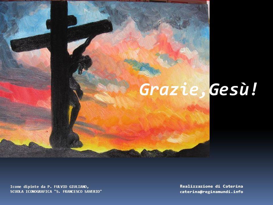 Gesù è deposto nel sepolcro Gesù viene avvolto in un candido lenzuolo e deposto nella tomba. Grazie Gesù, perché non sei rimasto in quella tomba ma se