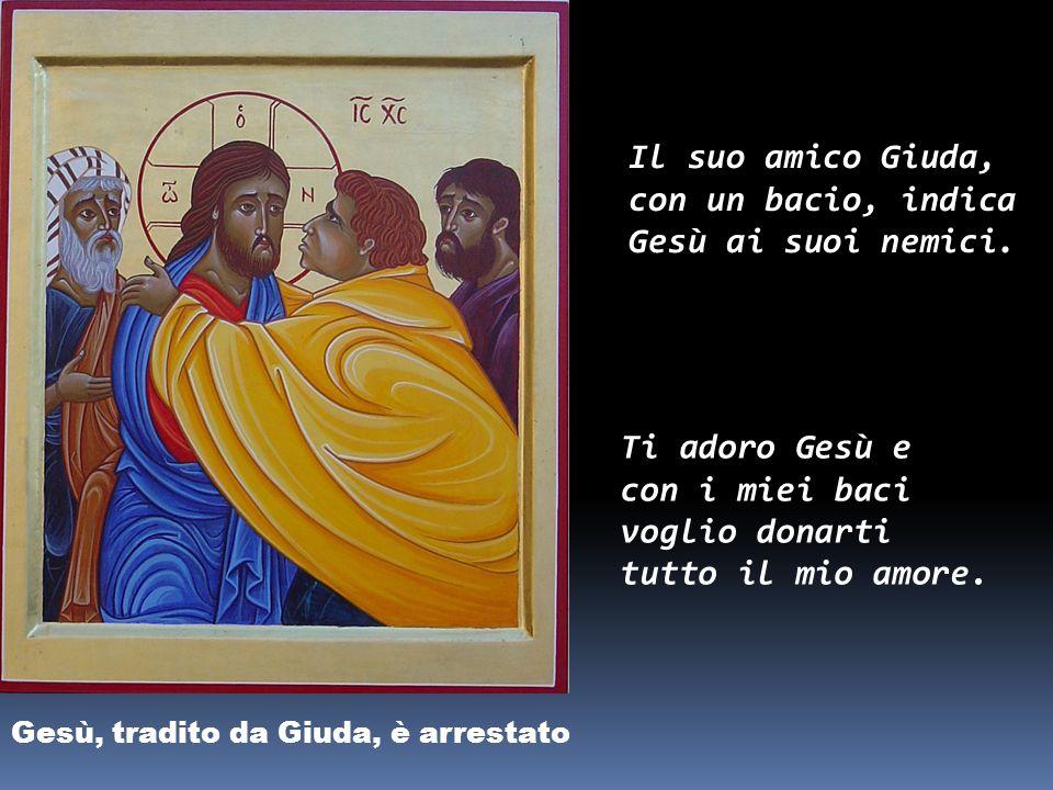 Gesù in Croce, la Madre e il discepolo «Donna, ecco il tuo figlio!».