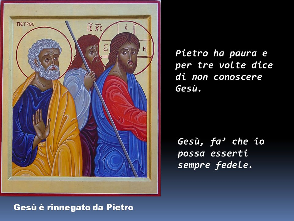 Gesù è condannato dal Sinedrio «Sei tu il Cristo, il Figlio di Dio benedetto?». Gesù rispose: «Io lo sono! Ma non gli credettero. Gesù, io credo che s