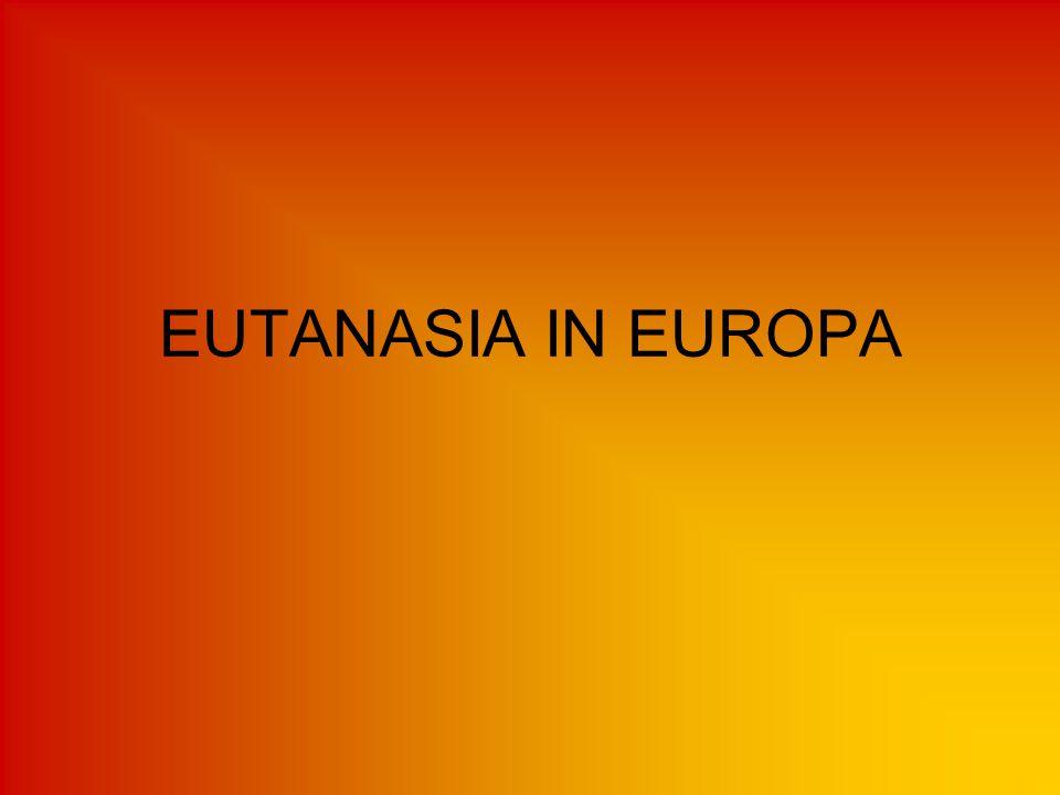 EUTANASIA IN EUROPA