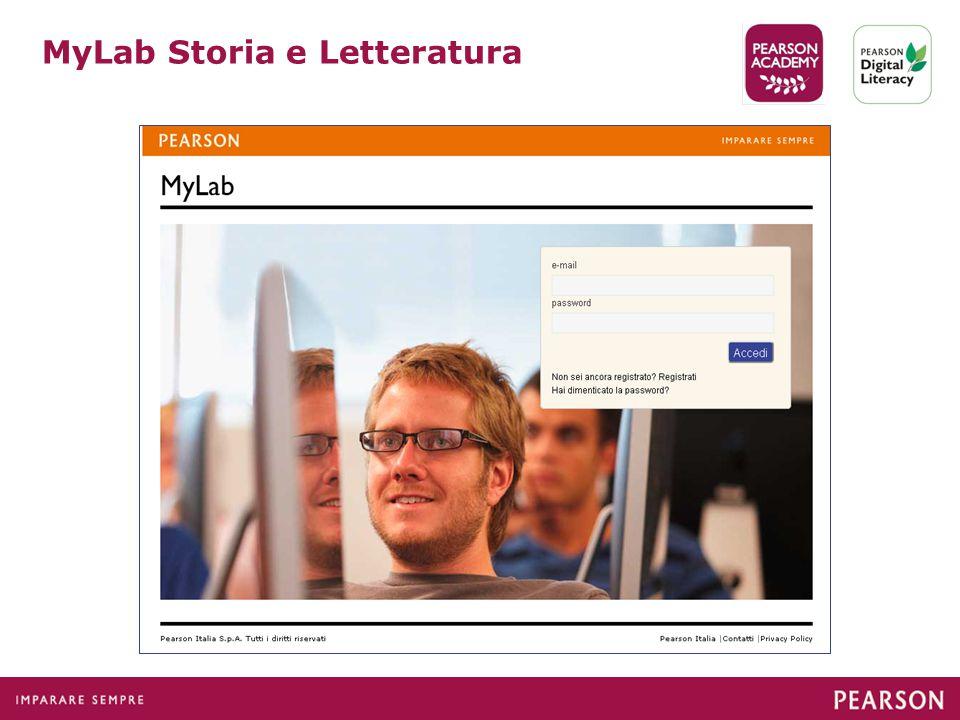 MyLab Storia e Letteratura