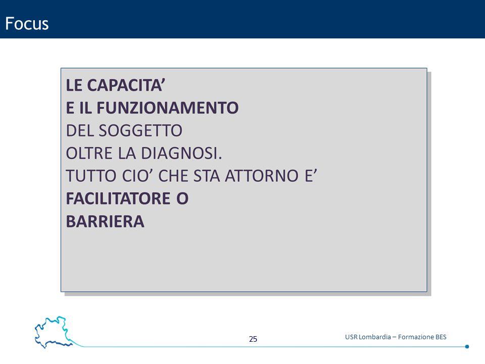 25 USR Lombardia – Formazione BES Focus