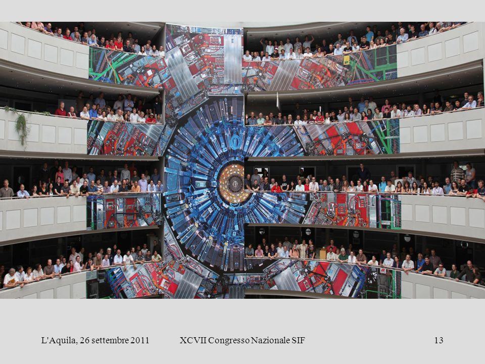 L Aquila, 26 settembre 2011XCVII Congresso Nazionale SIF13