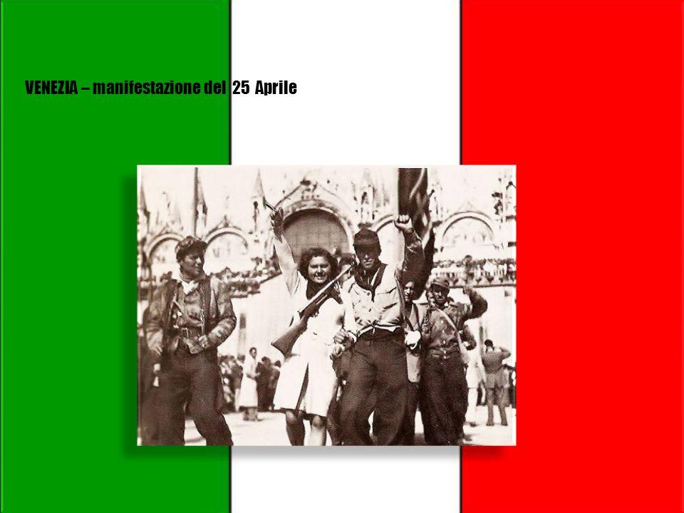 MILANO – manifestazione del 25 Aprile
