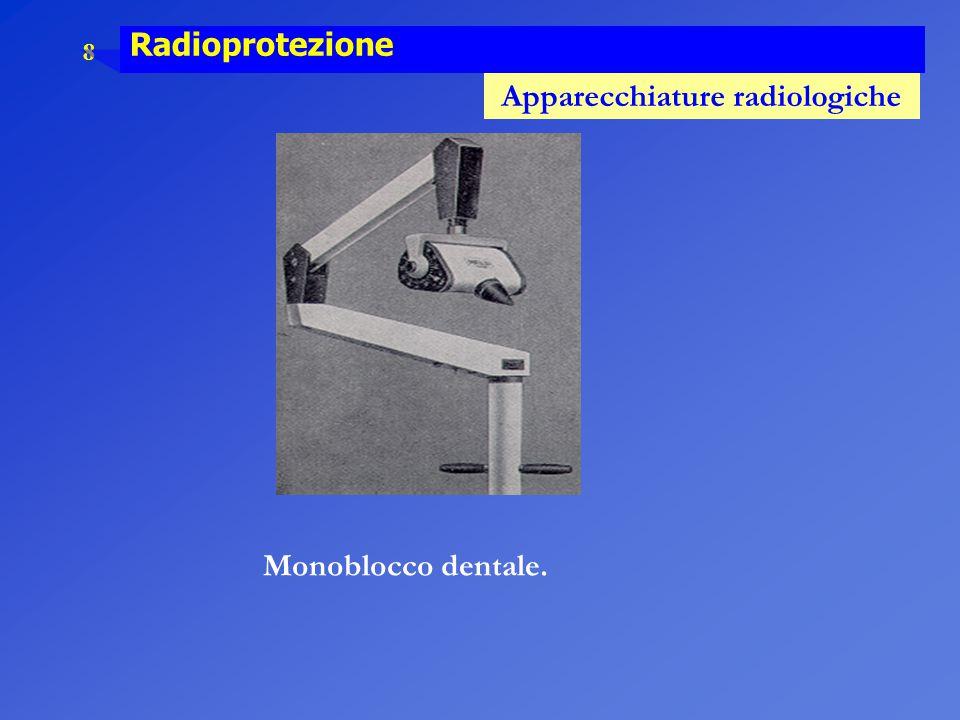 9 Radioprotezione Apparecchiature radiologiche Mammografo.