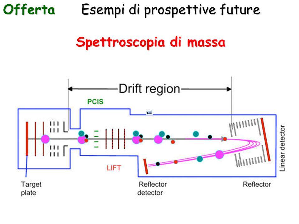 Esempi di prospettive future Offerta Spettroscopia di massa
