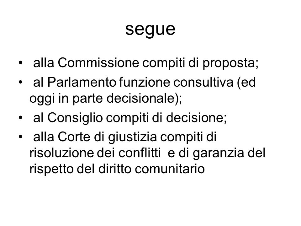 Segue artt.81 e 82 Trattato: -Intese restrittive della concorrenza; - sfruttamento abusivo di una posizione dominante