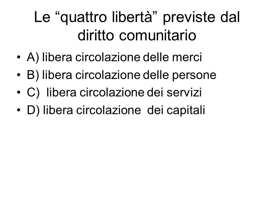 segue Il modello comunitario: Funzionalismo economico (graduale integrazione delle economie finalizzate alla creazione di un'unione politica) Alle origini: Economia sociale di mercato (libertà del mercato e della concorrenza): scuola di Friburgo