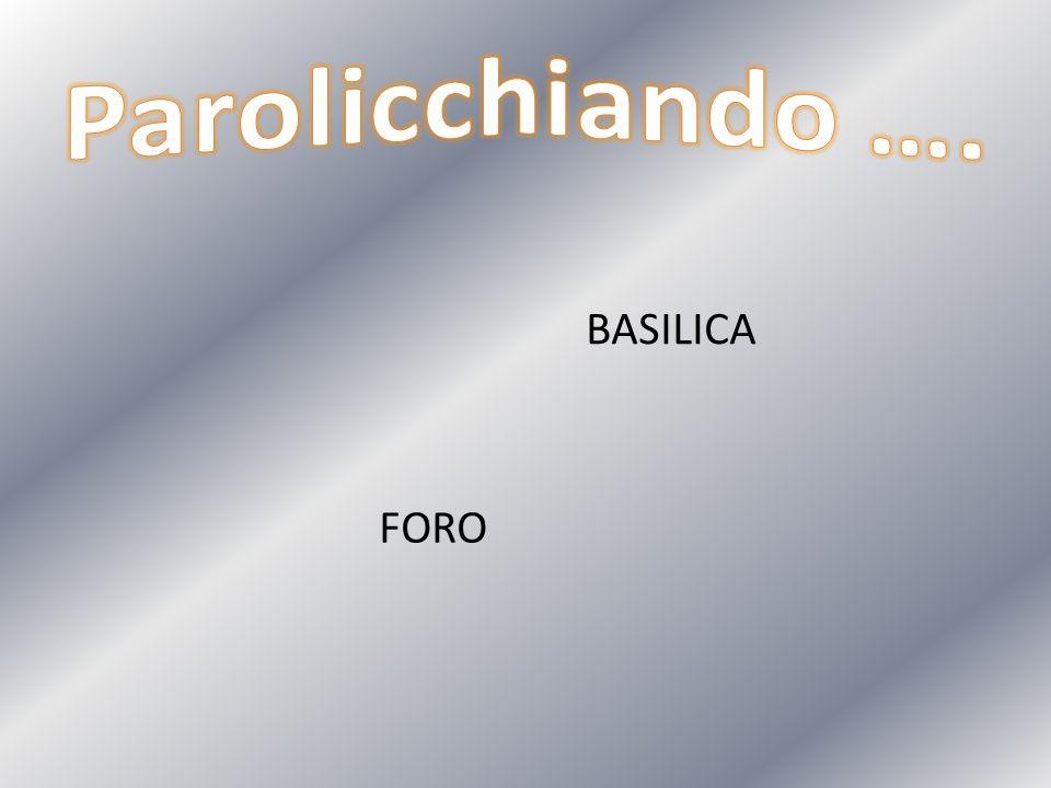 BASILICA FORO