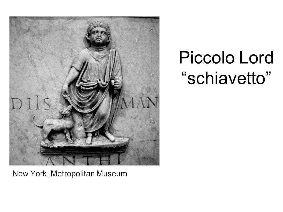 """Piccolo Lord """"schiavetto"""" New York, Metropolitan Museum"""