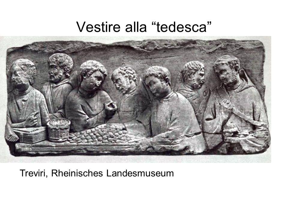 """Treviri, Rheinisches Landesmuseum Vestire alla """"tedesca"""""""