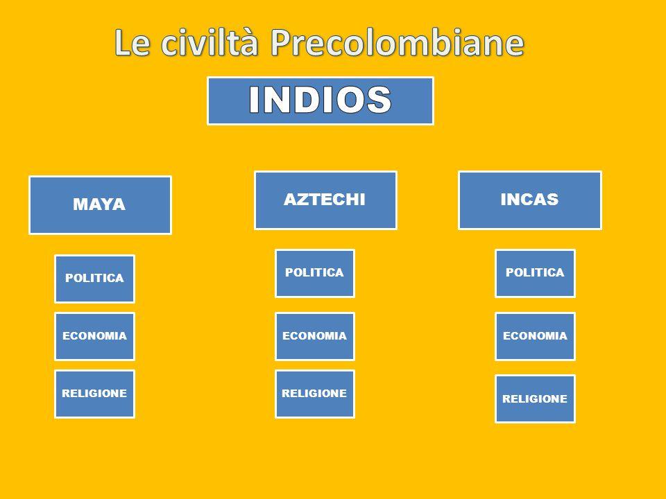 Tra i due imperi, rispettivamente Incas ed Aztechi erano presenti grandi differenze.