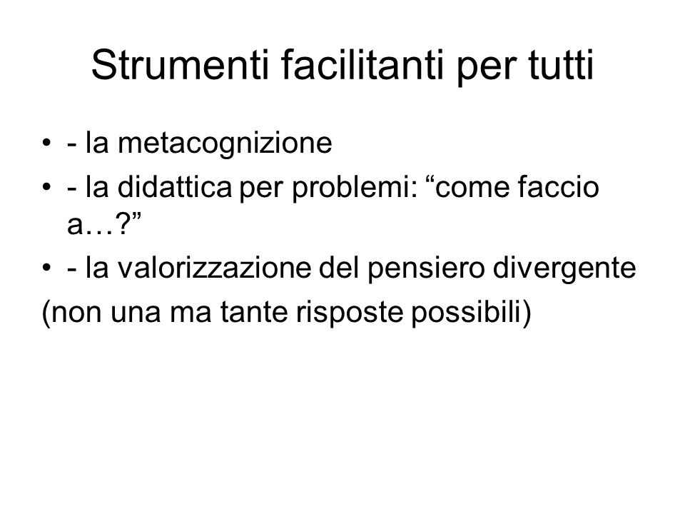 Strumenti e strategie specifici: ITALIANO UTILIZZO DI MAPPE PER LO STUDIO E/O PER VERIFICHE