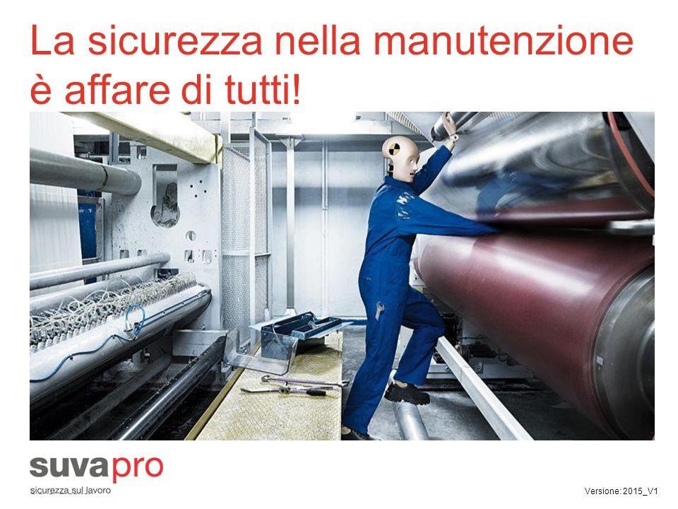 Ognuno ha una precisa responsabilità  I quadri  I manutentori interni  Le imprese di manutenzione esterne Importante.
