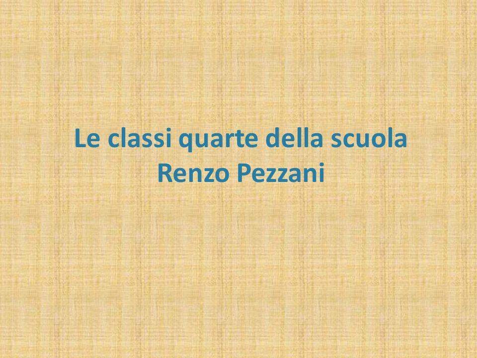 Le classi quarte della scuola Renzo Pezzani