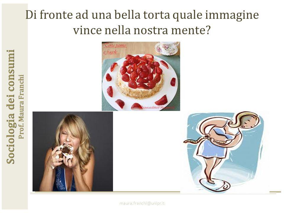 maura.franchi@unipr.it Di fronte ad una bella torta quale immagine vince nella nostra mente?