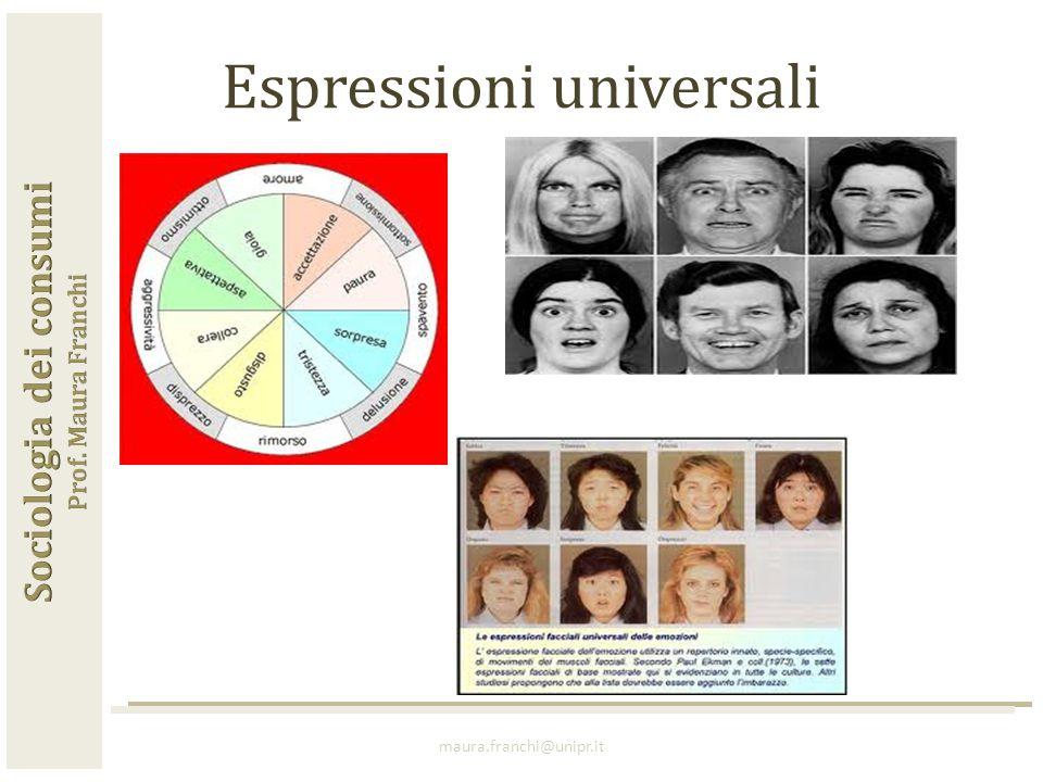 maura.franchi@unipr.it Espressioni universali