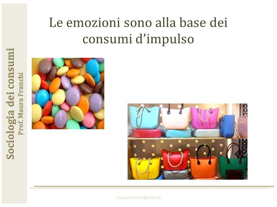 maura.franchi@unipr.it Le emozioni sono alla base dei consumi d'impulso