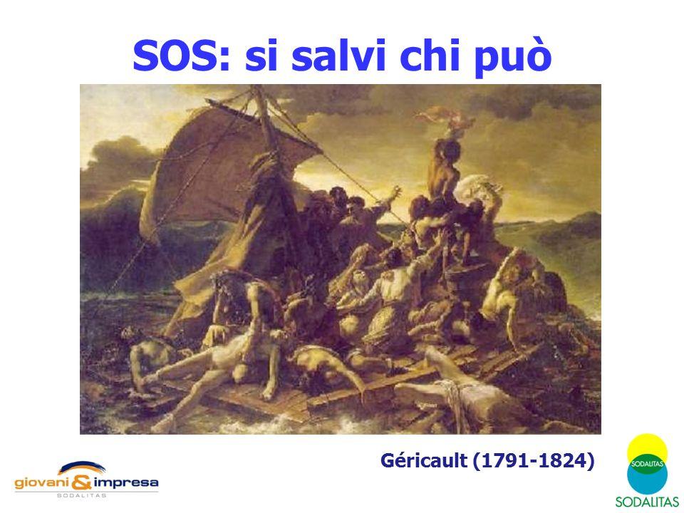 SOS: si salvi chi può Géricault (1791-1824)