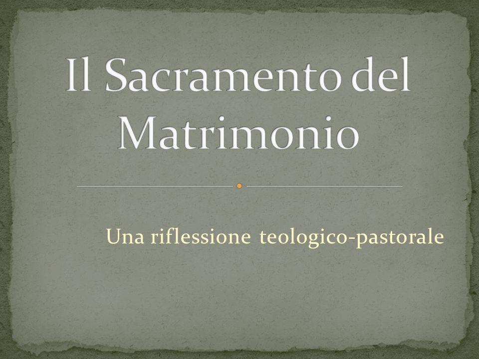 Una riflessione teologico-pastorale